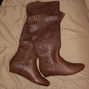 Forever21 Tall Shaft Boots